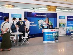 Bkav SmartHome tham gia hội chợ BuildTech Yangon 2014 tại Myanmar – Tháng 5/2014