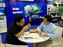 Bkav SmartHome tham gia hội chợ SITEX 2013 tại Singapore – Tháng 11–12/2013