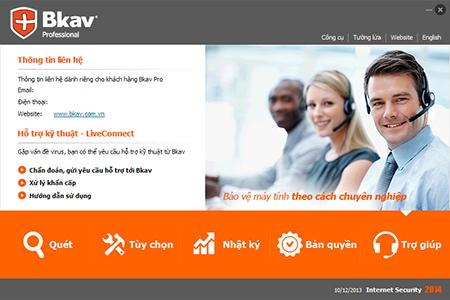 Phần mềm BKAV Pro Inteternet 3